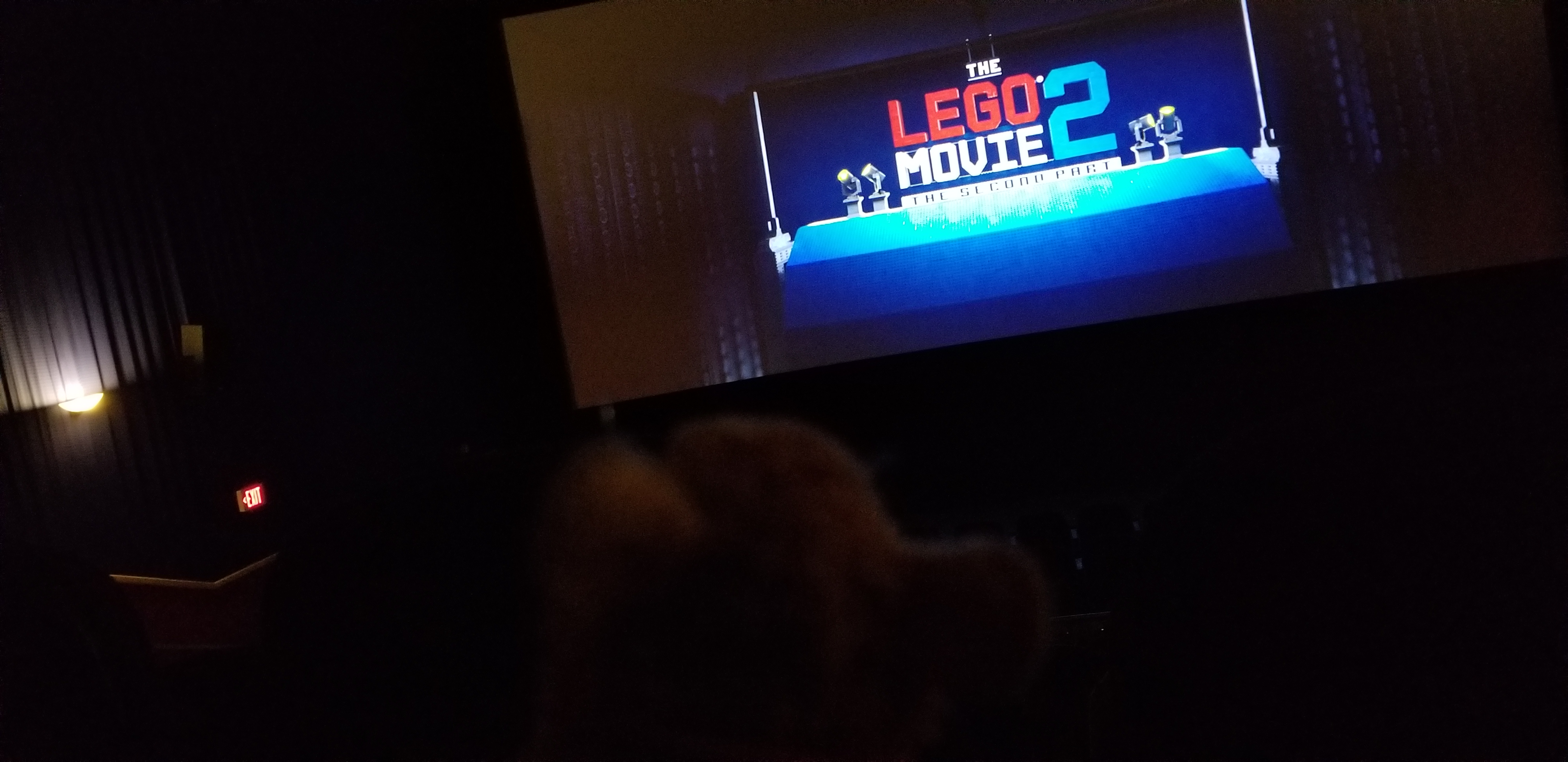 The Lego 2 movie begins